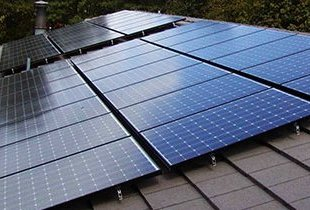 Installing Pv Solar Panels Home Photovoltaic Panel Installation
