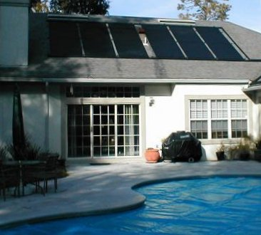 Heating a Pool with Solar Energy